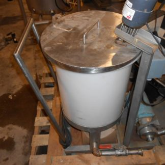 25 Gallon Poly Mixing Tank - #1410